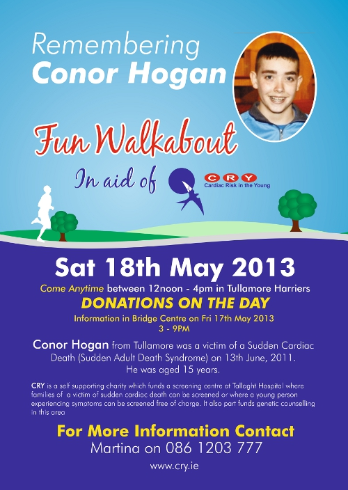 Remembering Conor Hogan Poster