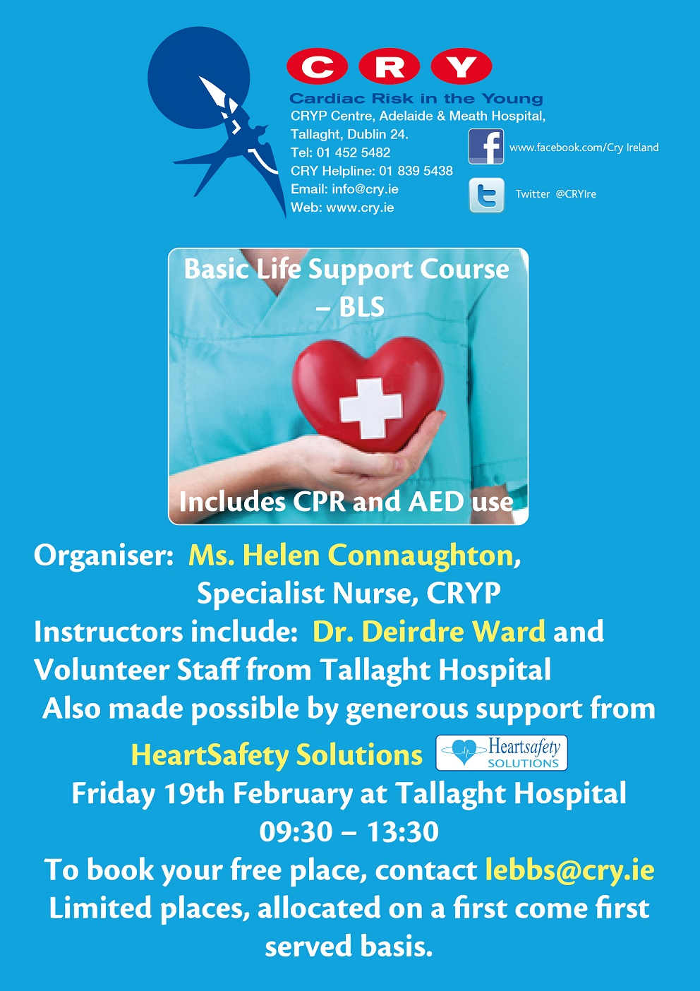 Life Support Course poster1