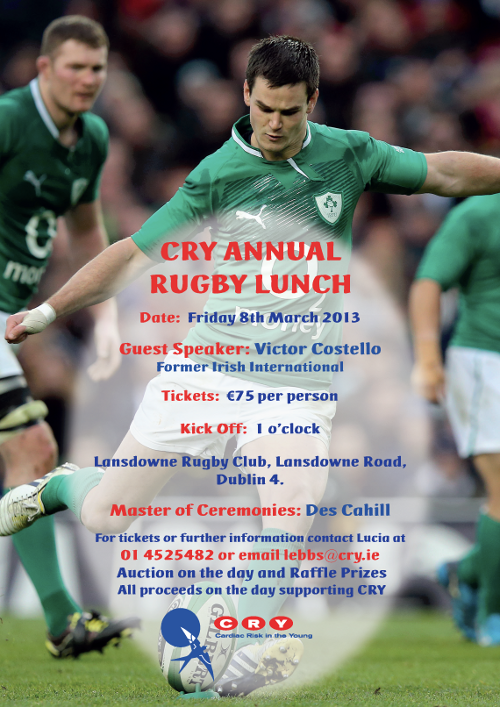 CRY Rugby Lunch Poster_2013