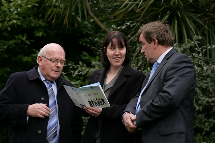 Michael Greene, Chairman of Cardiac Risk in Young, Dr Deirdre Ward, Consultant Cardiologist and Director of the Centre, Dr.  David Mulcahy, Consultant Cardiologist and Project Director