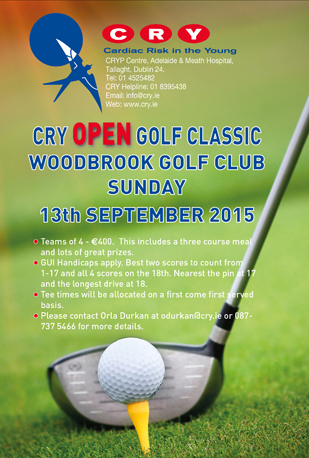 CRY Golf poster 2015 310 x 460px